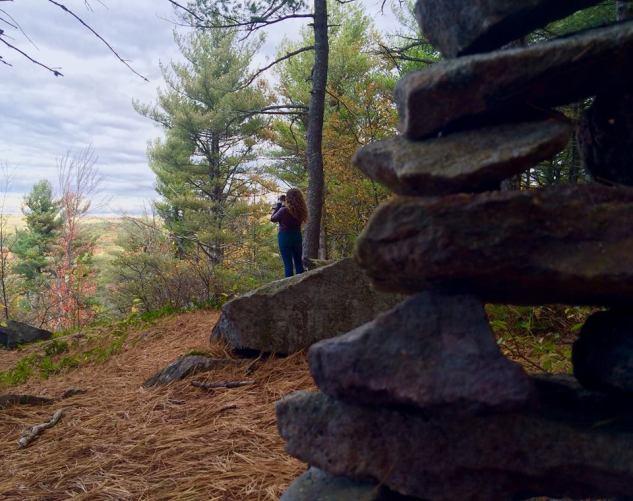 kellie-taking-footage-at-pinnacle