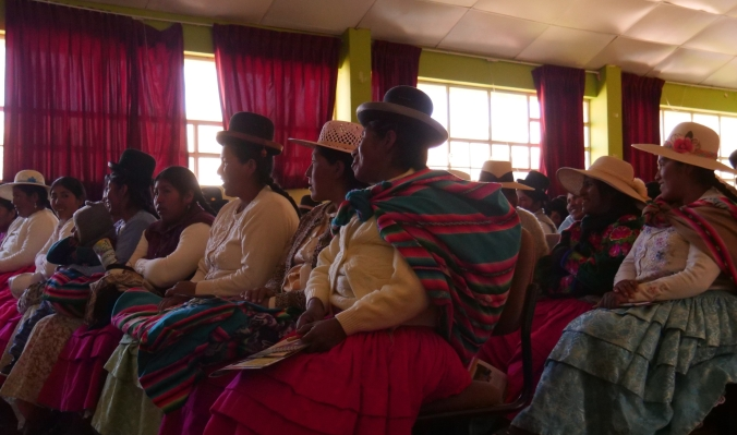 Women at UMA presentation hall