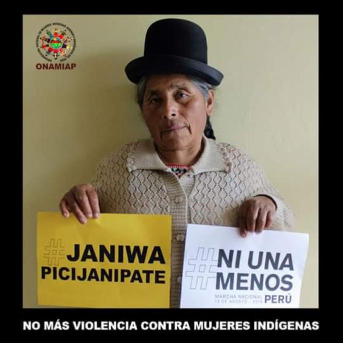 Rosa NiUnaMenos poster